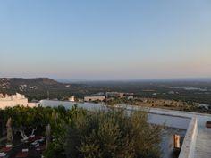 """Panorama, """"Relais La Sommita Hotel"""", Ostuni Puglia Italia (Luglio)"""