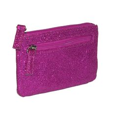 Glitz Zip Coin Pouch with ID Window Wallet by Mundi. This is the perfect little wallet to carry everything you need on the go while looking fun and fabulous! $9.95