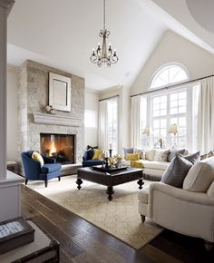 Great living room designs - Are you looking for ideas for your living room decor? Search through ideas of living room design and colors to create your perfect home. Check the webpage for more info. Living Room Inspiration, Formal Living Rooms, Home And Living, Family Living Rooms, Living Room Designs, Interior, House, Home Decor, House Interior