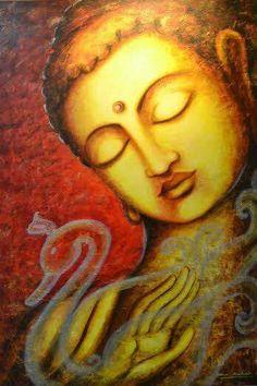 """A bridge never crossed is a life never lived."" ~ Chinese Proverb Artist: Uma Makkala ॐ lis Buddha Doodle, Buddha Zen, Gautama Buddha, Buddha Buddhism, Budha Painting, Buddha Drawing, Buddha Artwork, Buddhist Teachings, Zen Meditation"