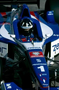 Damon Hill (Arrows) - 1997 - Imola (Italie)