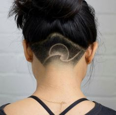 cute cuts shaved hair designs, hair cuts и shav Shaved Undercut, Undercut Long Hair, Side Undercut, Undercut Pixie, Undercut Hairstyles Women, Undercut Women, Updo Hairstyle, Pixie Hairstyles, Shaved Hairstyles