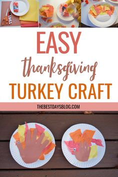 This Thanksgiving turkey craft is really easy to make. A fun activity to do with your toddler this year. #thanksgivingcraft #turkeycraft #craftsfortoddlers Thanksgiving Crafts For Toddlers, Thanksgiving Turkey, Crafts For Kids, Tissue Paper Trees, Paper Feathers, Turkey Craft, Fun Activities To Do, Toddler Crafts, Halloween Crafts