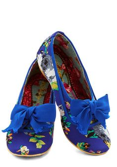 Irregular Choice Fun in Florals Flat | Mod Retro Vintage Flats | ModCloth.com