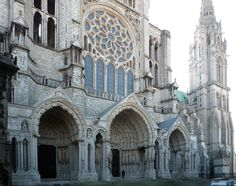 https://flic.kr/p/9vdRAT | Chartres, North Porch | smarthistory.org/Gothic.html
