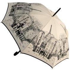 cute umbrella, parisienne poodles by guy de jean