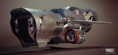 Creative Gallery, Cgi, Exorbit, Art, and Scifi image ideas & inspiration on Designspiration Spaceship Design, Spaceship Concept, Concept Ships, Concept Cars, Hover Car, Hover Bike, Retro Futuristic, Futuristic Design, Steampunk