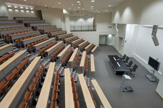 CAMPUS multifunctional system by Emmegi srl @Mater Dei Hospital - Malta, #campus, #emmegiseating, #auditorium, #conferenceroom
