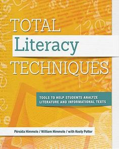 Here's a book for teachers to more than 50 tools and techniques for helping their students read independently and critically.