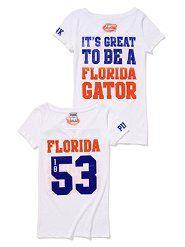 University of Florida Hoodies, Baseball Hats, Leggings, Tees & More at VS PINK