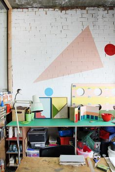 Australian artist Esther Stewart's North Melbourne studio simply couldn't be more inspiring.