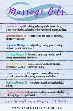 Best essential oils to use as massage oils, learn more and get our free aromatherapy massage oil recipe guide by Loving Essential Oils The post 22 Aromatherapy Massage Oils & Free Recipe Guide appeared first on Trendy. Massage Business, Essential Oils For Massage, Best Essential Oils, Aromatherapy Recipes, Aromatherapy Oils, Massage Lotion, Massage Oil, Essential Oils For Inflammation, Fitness Models