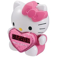 HKT2064 - HELLO KITTY KT2064 AM FM Projection Alarm Clock Radio * You can get additional details at the image link. (This is an affiliate link) #Clocks