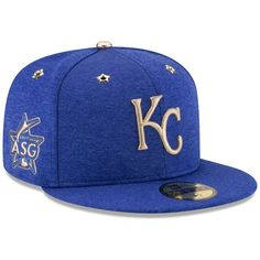 466f38f3cbd Show your love for the Kansas City Royals with this 2017 MLB All-Star Game  Side Patch Fitted Hat from New Era! It features festive graphics that ll  have you ...