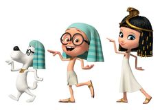 mr peabody and sherman egypt - Google Search