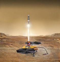 Sample return concept-Mars sample return mission (MSR) would be a spaceflight mission to collect rock and dust samples from Mars and to return them to Earth.  From Wikipedia, the free encyclopedia