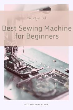 Best Sewing Machines for Beginners Sewing Machine Stitches, Sewing Machine Reviews, Sewing Hacks, Sewing Tutorials, Brother Sewing Machines, Easy Sewing Patterns, Sewing Rooms, Sewing Projects For Beginners, Learn To Sew