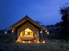 One of our favourite tented camps - Serengeti Under Canvas offers a genuine safari.