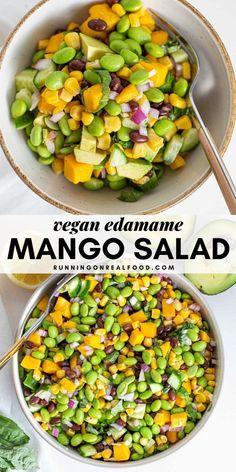 Salad Recipes For Dinner, Healthy Salad Recipes, Veggie Recipes, Vegetarian Recipes, Cooking Recipes, Vegetarian Salad, Healthy Vegetarian Foods, Recipes For Salads, Vegan Recipes Summer