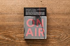 ON AIR – Awarded most beautiful german books 2013 by Andreas Hidber