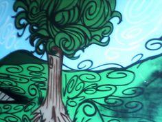'Tree Graffiti' by Raymond Rees-Jones Graffiti, Brutalist, Painting, Google, Art, Art Background, Painting Art, Kunst, Paintings