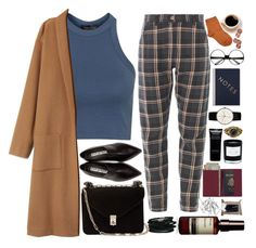 """""""I don't like sugar in my coffee."""" by blackcatx ❤ liked on Polyvore featuring Maria La Rosa, Topshop, Acne Studios, Monki, Valentino, Junghans, Korres, ZeroUV, StudioSarah and Royce Leather"""
