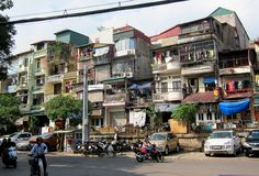 Hanoi, Vietnam. You will either love or hate Hanoi. Busy, noisy, and motorbike-clogged, the city is one of a kind.