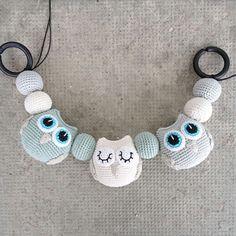 Newborn Crochet, Crochet Baby, Knit Crochet, Cute Crochet, Crochet Toys, Newborn Toys, Baby Sensory, Baby Owls, Welcome Baby