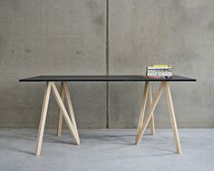 makers with agendas accordion table designboom