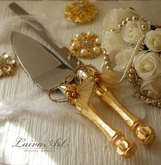 Silver Wedding Cake Server Set   Knife Cake Cutting Set Wedding Cake     Silver Wedding Cake Server Set   Knife Cake Cutting Set Wedding Cake Knife Set  Wedding Cake Servers Wedding Cake Cutter Cake Decoration by LaivaArt