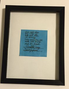 Greys Anatomy Meredith And Derek Post It Marriage by KareCreates