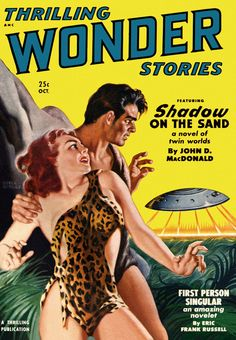 Earle K. Bergey : Thrilling Wonder Stories Oct. 1950
