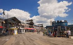 South Street Seaport...TKTS booth for discounted tickets
