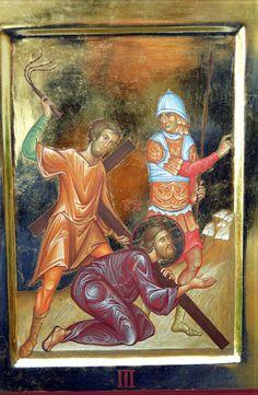Via Crucis - loscriptorium san sisto - Picasa Albums Web Religious Images, Religious Art, Byzantine Art, Son Of God, Album, Bible Art, Saint, Jesus Christ, Medieval