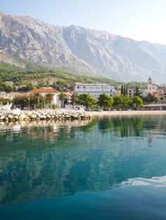 Croatia Travel Inspiration - An Early Morning Stroll Around Baska Voda, Croatia. A delightful town close to Makarska and a perfect day trip from Split. Makarska Croatia, Rovinj Croatia, Hotels In Dubrovnik, Dubrovnik Old Town, Croatia Travel, Thailand Travel, Bangkok Thailand, Italy Travel
