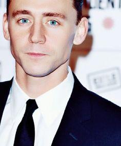 tom hiddleston.  There's a reason my husband has blue eyes...soooooooo hot!!!