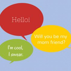 The search for a CAALMF (Cool Age Appropriate Local Mom Friend) How to Pick Up a Mom Friend | Boston Moms Blog