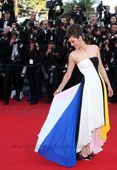 Marion Cotillard deslumbra en el festival de Cannes http://www.magazinespain.com/marion-cotillard-glamour-sobre-la-alfombra-roja-de-cannes/marion-cotillard1/