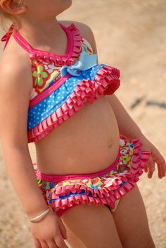 L'ella Teeny Weeny Bikini   Modest or Open by TurtleSoupCompany, $32.00