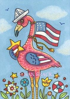 Flamingo Craft, Summer Painting, Alley Cat, Pink Bird, Chalk Art, Chalk Painting, Beach Crafts, Art Portfolio, Whimsical Art