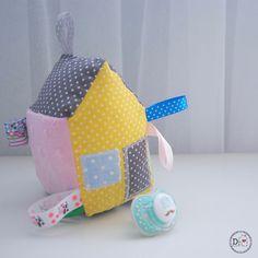 Domek - kostka sensoryczna - DominiDom - Zabawki sensoryczne