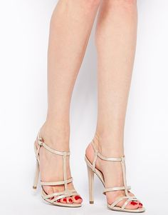 Image 4 of ASOS HIERARCHY Heeled Sandals