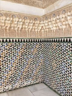 Mosaico. Palacios Nazaríes. Granada.
