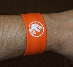BRAND NEW Jurassic World Park Slap Scan Band Bracelet BABY Blue