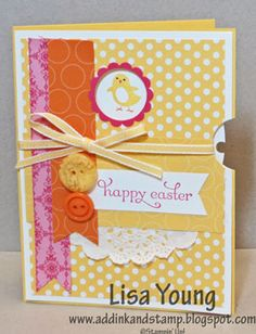 Stampin' Up! Easter  by Lisa Young at Add Ink and Stamp: Spring Sampler View-Master card