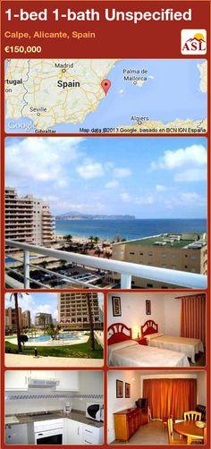 1-bed 1-bath Unspecified in Calpe, Alicante, Spain ►€150,000 #PropertyForSaleInSpain