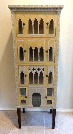 Venetian palazzo cabinet- Jeff Huckaby Studio