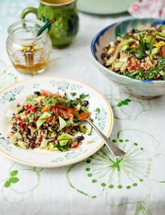 Mexican quinoa salad from the Hemsley sisters