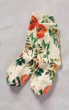 Gardener Ankle Socks #anthrofave
