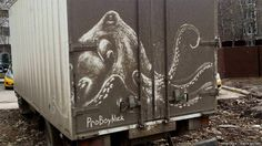These dirty vehicles have been turned into art  http://www.bbc.co.uk/newsbeat/articles/39640344